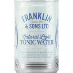 CAN FRANKLIN NATURAL LIGHT TONIC 24 X150ML