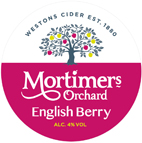 MORTIMERS ORCHARD ENGLISH BERRY 50L 4.0%