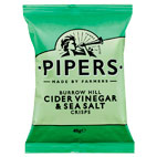 PIPERS CIDER VINEGAR and SEA SALT 24 X 40G