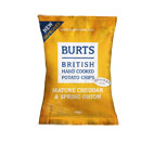 BURTS VINT CHED and SPRING ONION  20 X 40G